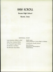 Page 5, 1966 Edition, Boone High School - Scroll Yearbook (Boone, IA) online yearbook collection