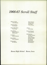 Page 5, 1967 Edition, Boone High School - Scroll Yearbook (Boone, IA) online yearbook collection