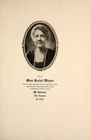 Page 11, 1926 Edition, George Washington High School - Monument Yearbook (Cedar Rapids, IA) online yearbook collection
