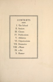 Page 13, 1926 Edition, George Washington High School - Monument Yearbook (Cedar Rapids, IA) online yearbook collection