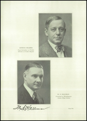 Page 14, 1928 Edition, George Washington High School - Monument Yearbook (Cedar Rapids, IA) online yearbook collection