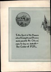 Page 8, 1929 Edition, George Washington High School - Monument Yearbook (Cedar Rapids, IA) online yearbook collection