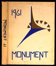 1961 Edition, George Washington High School - Monument Yearbook (Cedar Rapids, IA)