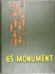 1965 Edition, George Washington High School - Monument Yearbook (Cedar Rapids, IA)