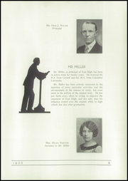 Page 15, 1933 Edition, East High School - Trojan Yearbook (Waterloo, IA) online yearbook collection