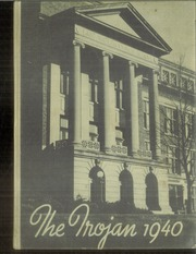 1940 Edition, East High School - Trojan Yearbook (Waterloo, IA)