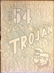 1954 Edition, East High School - Trojan Yearbook (Waterloo, IA)