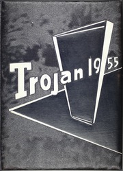 1955 Edition, East High School - Trojan Yearbook (Waterloo, IA)