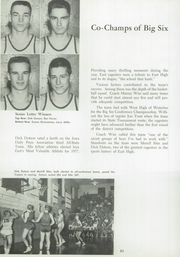 Page 74, 1957 Edition, East High School - Trojan Yearbook (Waterloo, IA) online yearbook collection