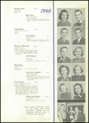 Page 15, 1940 Edition, Spencer High School - Spencerian Yearbook (Spencer, IA) online yearbook collection
