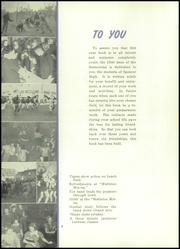 Page 8, 1940 Edition, Spencer High School - Spencerian Yearbook (Spencer, IA) online yearbook collection