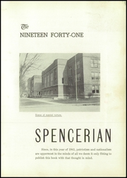 Page 7, 1941 Edition, Spencer High School - Spencerian Yearbook (Spencer, IA) online yearbook collection