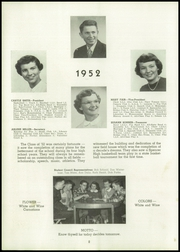 Page 12, 1952 Edition, Spencer High School - Spencerian Yearbook (Spencer, IA) online yearbook collection