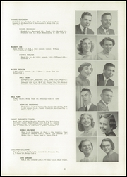 Page 15, 1952 Edition, Spencer High School - Spencerian Yearbook (Spencer, IA) online yearbook collection
