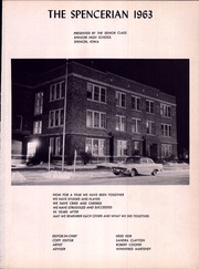 Page 5, 1963 Edition, Spencer High School - Spencerian Yearbook (Spencer, IA) online yearbook collection