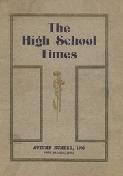 Page 1, 1909 Edition, Fort Madison High School - Madisonian Yearbook (Fort Madison, IA) online yearbook collection