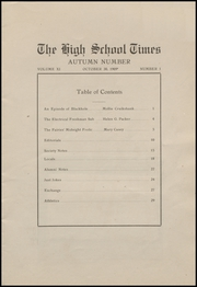Page 9, 1909 Edition, Fort Madison High School - Madisonian Yearbook (Fort Madison, IA) online yearbook collection