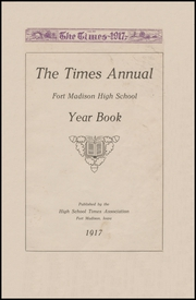 Page 5, 1917 Edition, Fort Madison High School - Madisonian Yearbook (Fort Madison, IA) online yearbook collection