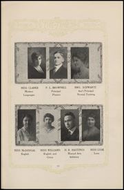 Page 15, 1919 Edition, Fort Madison High School - Madisonian Yearbook (Fort Madison, IA) online yearbook collection