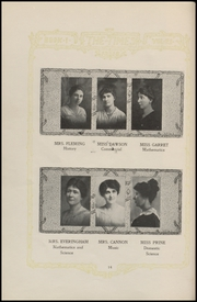 Page 16, 1919 Edition, Fort Madison High School - Madisonian Yearbook (Fort Madison, IA) online yearbook collection
