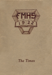 Fort Madison High School - Madisonian Yearbook (Fort Madison, IA) online yearbook collection, 1922 Edition, Page 1