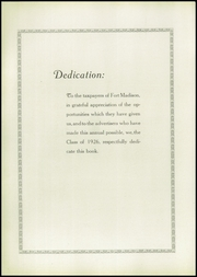 Page 10, 1926 Edition, Fort Madison High School - Madisonian Yearbook (Fort Madison, IA) online yearbook collection