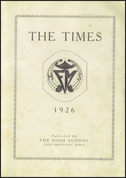 Page 5, 1926 Edition, Fort Madison High School - Madisonian Yearbook (Fort Madison, IA) online yearbook collection