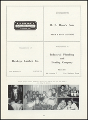 Page 103, 1952 Edition, Fort Madison High School - Madisonian Yearbook (Fort Madison, IA) online yearbook collection