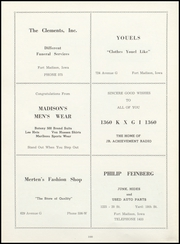 Page 104, 1952 Edition, Fort Madison High School - Madisonian Yearbook (Fort Madison, IA) online yearbook collection