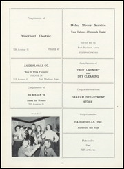 Page 105, 1952 Edition, Fort Madison High School - Madisonian Yearbook (Fort Madison, IA) online yearbook collection