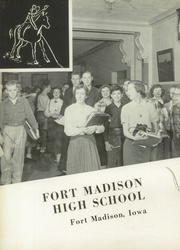 Page 6, 1953 Edition, Fort Madison High School - Madisonian Yearbook (Fort Madison, IA) online yearbook collection