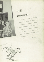 Page 7, 1953 Edition, Fort Madison High School - Madisonian Yearbook (Fort Madison, IA) online yearbook collection