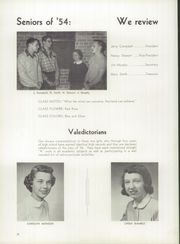 Page 16, 1954 Edition, Fairfield High School - Quill Yearbook (Fairfield, IA) online yearbook collection