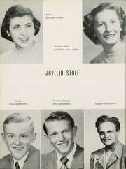 Page 8, 1951 Edition, Atlantic High School - Javelin Yearbook (Atlantic, IA) online yearbook collection