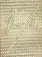 1953 Edition, Atlantic High School - Javelin Yearbook (Atlantic, IA)