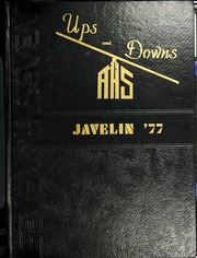 1977 Edition, Atlantic High School - Javelin Yearbook (Atlantic, IA)