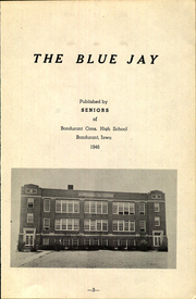 Page 5, 1946 Edition, Bondurant Farrar High School - Bluejay Yearbook (Bondurant, IA) online yearbook collection