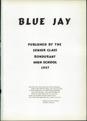 Page 5, 1957 Edition, Bondurant Farrar High School - Bluejay Yearbook (Bondurant, IA) online yearbook collection