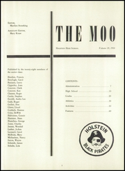 Page 5, 1956 Edition, Galva Holstein Community School - Moo Yearbook (Holstein, IA) online yearbook collection