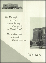 Page 6, 1956 Edition, Galva Holstein Community School - Moo Yearbook (Holstein, IA) online yearbook collection