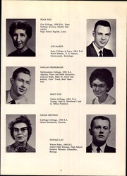 Page 9, 1964 Edition, Shelby Tennant Community High School - Cardinals Yearbook (Shelby, IA) online yearbook collection
