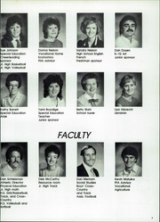Page 9, 1986 Edition, Shelby Tennant Community High School - Cardinals Yearbook (Shelby, IA) online yearbook collection