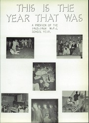 Page 7, 1964 Edition, MFL MarMac Community School - Bulldog Yearbook (Monona, IA) online yearbook collection