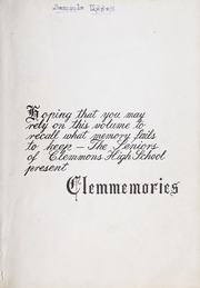 Page 3, 1947 Edition, Clemmons High School - Clemmemories Yearbook (Clemmons, NC) online yearbook collection