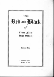 Page 4, 1925 Edition, Cedar Falls High School - Tiger Yearbook (Cedar Falls, IA) online yearbook collection