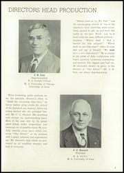 Page 11, 1950 Edition, Cedar Falls High School - Tiger Yearbook (Cedar Falls, IA) online yearbook collection