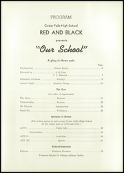 Page 7, 1950 Edition, Cedar Falls High School - Tiger Yearbook (Cedar Falls, IA) online yearbook collection
