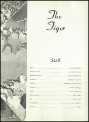 Page 7, 1959 Edition, Cedar Falls High School - Tiger Yearbook (Cedar Falls, IA) online yearbook collection