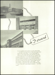 Page 8, 1959 Edition, Cedar Falls High School - Tiger Yearbook (Cedar Falls, IA) online yearbook collection