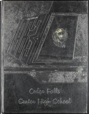 1963 Edition, Cedar Falls High School - Tiger Yearbook (Cedar Falls, IA)